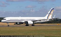 SX-RFA | Boeing 757-23N | GainJet Aviation (james.ronayne) Tags: sxrfa boeing 75723n gainjet aviation aeroplane airplane plane aircraft jet flight flying london luton eggw ltn canon 80d 100400mm raw