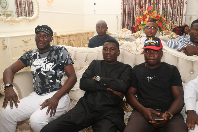 HSDickson- Condolence Visit by Ijaw Youth Council. 22nd August 2018
