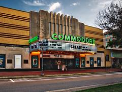 Commodore (Sky Noir) Tags: art deco style commodore theatre is historic movie theater located portsmouth virginia night street neon hamptonroads tidewater