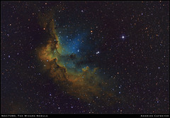 The Wizard Nebula (Andries Cafmeyer Astrophotography) Tags: wizard nebula ngc7380 sh2142 emissionnebula celestron cgx skywatcher explorer 750mm zwo asi 183mm pro asi183mm asi183mmpro asi120mm baader narrowband hubblepalette mpcc startravel 80mm sequance generator sequencegeneratorpro sgp phd2 guiding pixinsight photoshop stars astronomy astrophotography universe 150pds