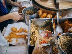 早點。攤販 (楚志遠) Tags: 楚志遠 凍先生 生活 grii 早餐 攤販 食物 飯糰 蛋餅 屏東
