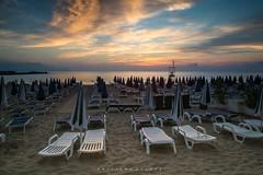 Till the day we meet again. (Emykla) Tags: cinisi magaggiari mare sea beach spiaggia tramonto sunset summer estate nikon d3100 orange arancione