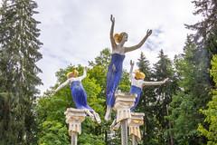 Mariánské Lázně (RunningRalph) Tags: czechrepublic lesnípramen mariánskélázně mariënbad ozoubek olbramazoubka statue karlovarskýkraj tsjechië cz