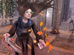 Hello Autumn (мα∂ємσιѕєℓℓє ѕαтιηє) Tags: harrypotter mischiefmanaged roleplay rp fantasy ravenclaw secondlife fashiowlposes