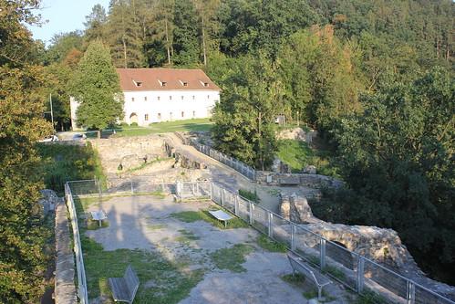 Ruiny zamku Maßenburg