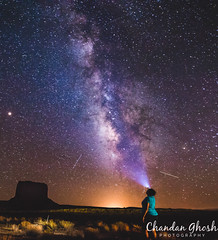 The Stargate (Chandan Ghosh Photography) Tags: monumentvalley milkyway nightshot nightphotography utah navajo nightsky celestial