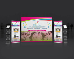Trade Show Banner Design (syhamsmt) Tags: trade backdrop poll up rollup