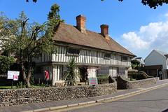 Tudor Cottage,1 (doojohn701) Tags: periodbuilding tudor restored chimneys historic house wall sunlight tree road margate uk