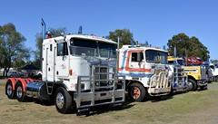 Cabover Kenworths (quarterdeck888) Tags: trucks photos truckphotos australiantrucks outbacktrucks workingtrucks primemover class8 overtheroad interstate frosty quarterdeck jerilderietrucks jerilderietruckphotos flickr bdoubles lorry bigrig highwaytrucks interstatetrucks nikon truck kenworth kenworthclassic kk kenworthclassic2018 truckshow truckdisplay workingclasstrucks noprizes abover k125 k100e
