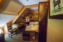 Servants bedroom under the roof (Carol Spurway) Tags: pockerleynewhouse pockerleyoldhall museum workingmuseum 1820s countydurham openairmuseum beamish stanley livingmuseum