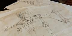 2018 Buskers in the Burg, Workshop (Dennis Valente) Tags: 2018 buskersintheburg usa mermadon washington art 5dsr workshop drawing design giantpuppet pnw ellensburg puppetry puppet