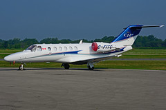 C-FITC (Steelhead 2010) Tags: yhm creg cfitc bizjet cessna c525 citationjet