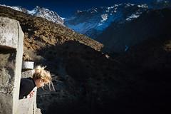 Tizi Oussem (Mathijs Buijs) Tags: atlas mountains mountain range village terraces north northern africa canon eos 5d mark mk iii arab berber houses road snow mountainside tizi oussem morocco moroccan