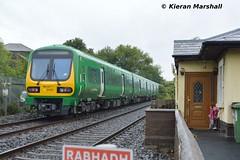 29020+29023 pass Ashtown, 26/8/18 (hurricanemk1c) Tags: railways railway train trains irish rail irishrail iarnród éireann iarnródéireann 2018 class29000 caf commuter papalvisit2018 worldmeetingoffamilies 29020 ashtown