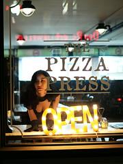 Waiting (Something Sighted) Tags: streetphotography scènederue night santaana orangecounty california restaurant window