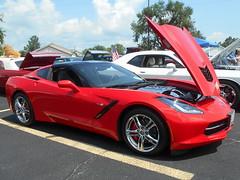 2016 Chevy Corvette (splattergraphics) Tags: 2016 chevy corvette c7 carshow choptankbowlingcenter cambridgemd