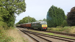In to Quorn (Duck 1966) Tags: d832 onslaught buryhydraulicgroup gcr emrps timelineevents diesel locomotive