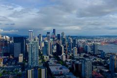 Seattle Skyline (dan-gutierrez) Tags: roadtrip streetphotography fujifilm x100t seattle northwest