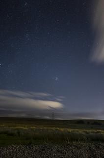 Pleiades shinning bright