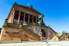 Der Deutschen Kunst (Raoul Pop) Tags: relief act pediment people staircase descriptor cobblestone structure colonnade summer person statue portico neoclassic technology architecture object monument column walking temple time berlin germany de