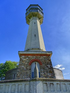 Le phare de Verzenay, Champagne-Ardenne, France