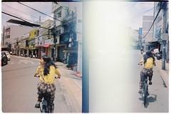 000045 (jovenjames) Tags: 2017 vietnam yashica electro 35 gx kodak vision3 500t diptych olympus pen ees2 light leaks analog film snapshots dalat