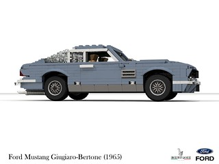 Ford Mustang Concept Giugiaro-Bertone (1965)