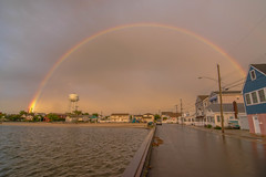 Rainbow (seanbeebe_photo) Tags: rainbow seasidepark nj newjersey storm rain sunset