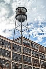 water tower (ammozug) Tags: watertower brickstructure glass russellindustrialcenter detroit mi