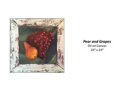"""Pear and Grapes • <a style=""""font-size:0.8em;"""" href=""""https://www.flickr.com/photos/124378531@N04/42994017010/"""" target=""""_blank"""">View on Flickr</a>"""