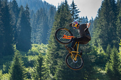 MTB-1 (Diving Pete) Tags: bicycle chatel france frenchalps intobeyondphotography location mtb mtbriders mountainbike people prelajoux rebouljamatchatelmtbbikepark shows thomasgenon tommyg