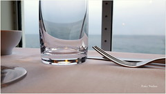 Dinner at sea (Explored) (Nadine V.) Tags: dfds newcastle uk england phototakenwithsmartphone samsungs5neoblack samsungs5 dfdsferries dinner diner