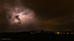 Haute tension dans les nuages (christian.rey) Tags: éclairs foudre nuages blitz lightning ligthningscape orages clouds swiss fribourg broye sony alpha a7r2 a7rii 1635