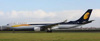 A-330, VT-JWU, Jet Airways, Schiphol Airport, 19 November 2017
