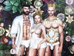 . EohB,Kiim&Grant . #DavidHeather #Modulus #Catwa #Straydog #TheOak #DAPPA #TaketomiWEST #Insol #SU #Candydoll #Thirts (Crayolas Clothes) Tags: davidheather modulus catwa straydog theoak dappa taketomiwest insol su candydoll thirts royal high fancy white corset robe brief sexy gay guy men man dude stude male mate girl gurl doll sex delly sweet sweety flowers sl secondlife second life belleza maitreya avatar guido muscle abs 2018 peruvian usa us