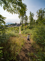 Wayfarer in Mátra Mountains (un2112) Tags: galyatető son kids children mountain mátra hungary summer august laowa laowa75 laowa75mm