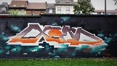 Exom / Denderlaan - 20 aug 2018 (Ferdinand 'Ferre' Feys) Tags: gent ghent gand belgium belgique belgië streetart artdelarue graffitiart graffiti graff urbanart urbanarte arteurbano ferdinandfeys
