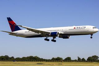 N829MH | Delta Airlines | Boeing B767-432(ER) | CN 29700 | Built 2000 | DUB/EIDW 29/06/2018