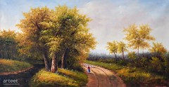 The Shepherdess, Art Painting / Oil Painting For Sale - Arteet™ (arteetgallery) Tags: arteet oil paintings canvas art artwork fine arts landscape tree sky grass clouds forest trees summer season rural autumn park field spring meadow countryside environment scenery natural outdoor outdoors scene country fall plant leaves sunny scenic yellow horizon leaf sun outside cloud garden foliage travel seasonal november land landscapes people portraits pastorals lime flesh paint