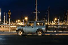 Mitsubishi Montero (Curtis Gregory Perry) Tags: ketchikan alaska night mitsubishi montero car suv truck long exposure boats waterfront marina dock pier street nikon d810