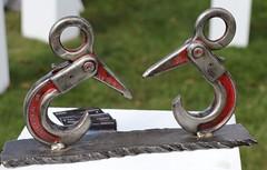 Maurice GRAFFENBERG - Prise de becs (Thethe35400) Tags: sculpture escultura eskultura skulptur estatua scultura scukpture métal metal acier