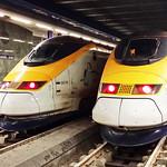 Class 371/1 Eurostars at Brussels, 15 Feb 2016 thumbnail