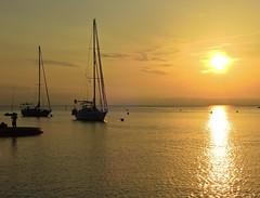 Amanecer en Colliure (Mono Andes) Tags: francia amanecer mediterráneo mar colliure antoniomachado