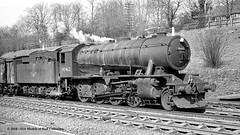 c.02/1964 Hessle, East Yorkshire. (53A Models) Tags: britishrailways wd austerity 280 90462 steam freight hessle eastyorkshire train railway locomotive railroad
