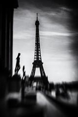 3294 (Elke Kulhawy) Tags: paris eifeltower monochrome blackandwhite art kunst bw bnw city dark elkekulhawy france lensbaby