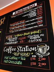 Breakfast Board (right) (Pixel & Smudge) Tags: chalkart chalkboard art chalk