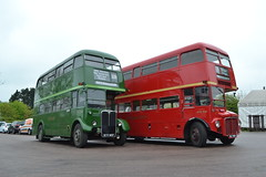 London Transport RT3228 KYY957 & RML900 WLT900 (Will Swain) Tags: epping station 28th april 2018 ongar railway spring diesel gala bus buses transport travel uk britain vehicle vehicles county country england english williamsdigitalcamerapics100 london rml900 wlt900 900 rt3228 kyy957 3228