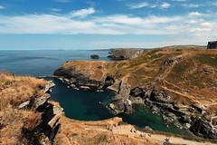 Tintagel | Merlin's Cave (Mike.Dales) Tags: tintagel atlantic englishheritage castle cornwall devon hartlandpoint merlinscave