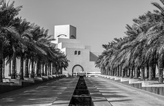 Museum of Islamic Art, Doha (rudy_nyc) Tags: museumofislamicart doha qatar monochrome bw