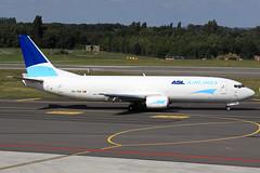 ASL Airlines Belgium  Boeing 737-4M0(SF) OO-TNQ (widebodies) Tags: liege lüttich lgg eblg widebody widebodies plane aircraft flughafen airport flugzeug flugzeugbilder asl airlines belgium boeing 7374m0sf ootnq